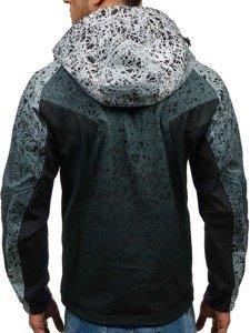 Černá pánská softshellová bunda Bolf 0013