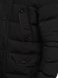 Černá pánská zimní parka Bolf 1091