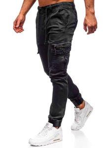 Černé pánské jogger kapsáče Bolf KA528