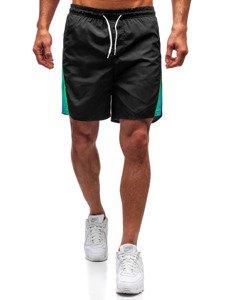 Černé pánské koupací šortky Bolf 315