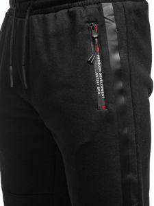 Černé pánské tepláky Bolf JX8982