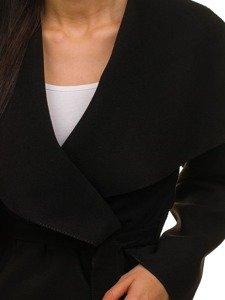 Černý dámský kabát Bolf 1726