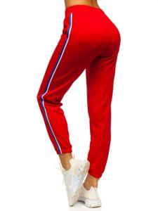 Červené dámské tepláky Bolf YW01020