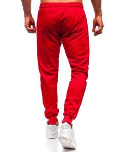 Červené pánské tepláky Bolf JZ11001