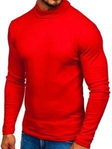 Červený pánský rolák bez potisku Bolf 145347