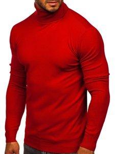 Červený pánský rolák bez potisku Bolf YY02