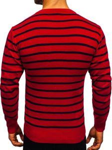 Červený pánský svetr Bolf H6052