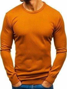 Kamelový pánský svetr Bolf 2300