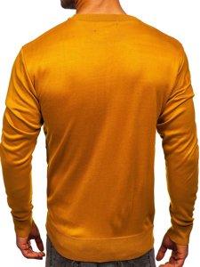 Kamelový pánský svetr Bolf GFC01