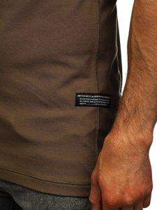 Khaki pánská polokošile Bolf 2058