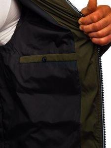 Khaki pánská zimní bunda Bolf 5973