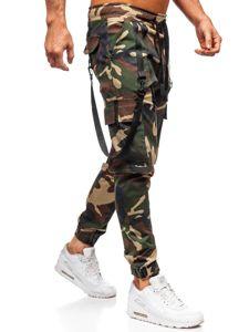 Khaki pánské jogger kapsáče Bolf 11105