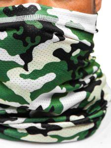 Khaki pánský maskáčový šátek Bolf YW0506M
