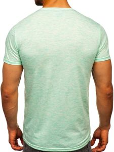 Mátové pánské tričko s potiskem Bolf SS11126