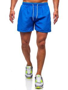 Modré pánské plavecké šortky Bolf 303