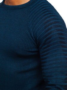 Modrý pánský svetr Bolf 0002