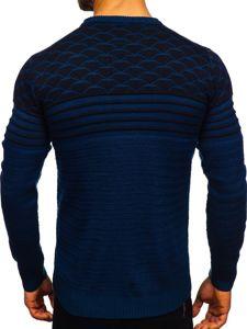 Modrý pánský svetr Bolf 314