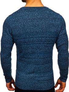 Modrý pánský svetr Bolf H1926