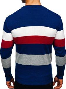 Modrý pánský svetr Bolf H2005