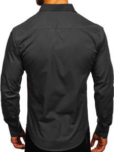 Pánská košile BOLF 1703 černá