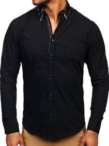 Pánská košile BOLF 2705 černá