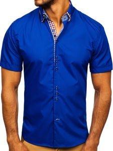 Pánská košile BOLF 3507 královsky modrá