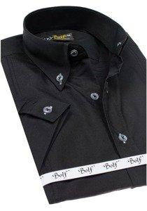 Pánská košile BOLF 5535 černá
