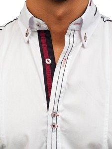Pánská košile BOLF 6513 bílá