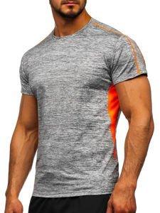 Šedé pánské sportovní tričko Bolf KS2100
