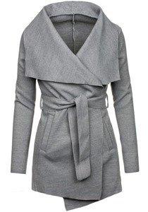 Šedý dámský kabát Bolf 1726