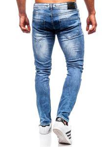 Tmavě modré pánské džíny regular fit Bolf 4013