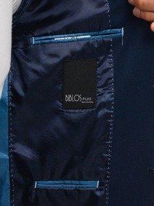 Tmavě modré pánské elegantní sako Bolf 1050