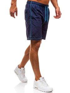 Tmavě modré pánské koupací šortky Bolf 82252