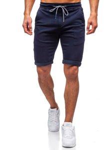 Tmavě modré pánské plavecké šortky Bolf KG3722