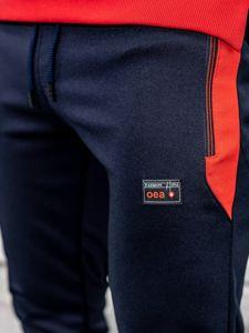 Tmavě modré pánské tepláky Bolf HL8989