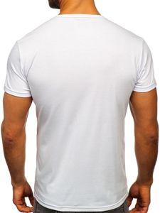 Tmavě modré pánské tričko s potiskem Bolf SS10905