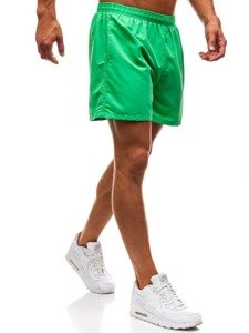 Zelené pánské koupací šortky Bolf Y769