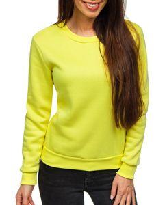 Žlutá dámská mikina Bolf W01