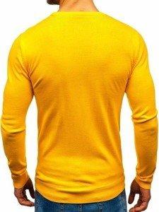 Žlutý pánský svetr Bolf 2300