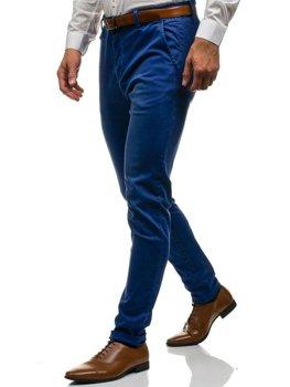 Navy Blue Men's Chino Trousers Bolf 7315